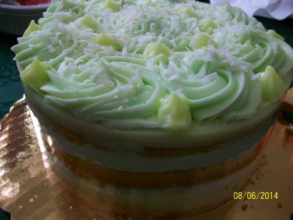 ケーキ、たこやき&プールパーティの巻き♪_a0315750_06084391.jpg