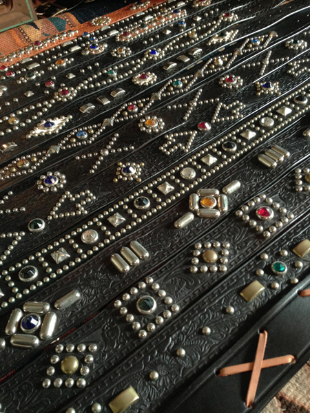 RAWHIDE Studded & Jeweled Belt 展示受注会@山口県MAMBO様_c0187684_1640221.jpg