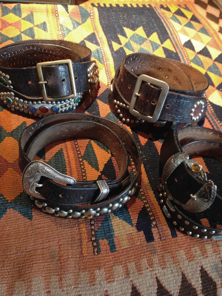 RAWHIDE Studded & Jeweled Belt 展示受注会@山口県MAMBO様_c0187684_16415325.jpg