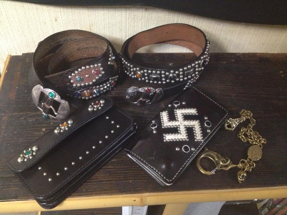RAWHIDE Studded & Jeweled Belt 展示受注会@山口県MAMBO様_c0187684_1642293.jpg