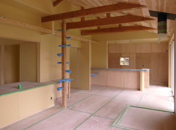 まめごまの家 大工工事完了_f0341886_21153173.jpg