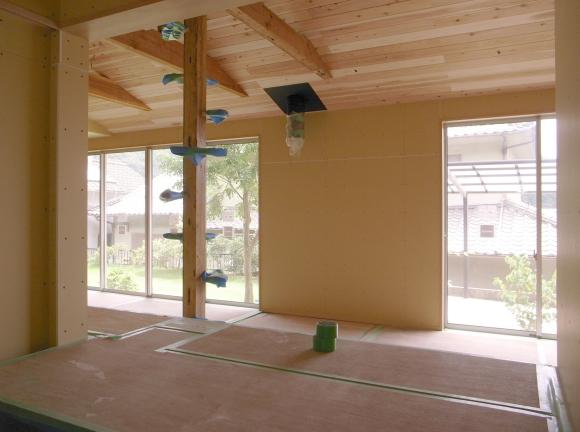 まめごまの家 大工工事完了_f0341886_21164717.jpg