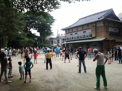 7月22日(火) 夏休みラジオ体操がスタート!_e0093518_15244231.jpg