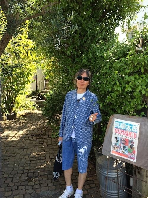 真夏の鵠沼で、真鍋太郎の作品展_c0113755_01364432.jpg