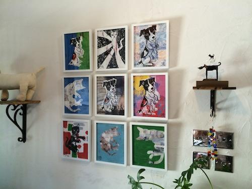 真夏の鵠沼で、真鍋太郎の作品展_c0113755_01365210.jpg