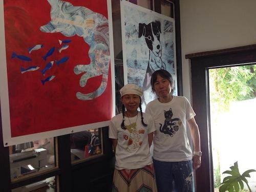 真夏の鵠沼で、真鍋太郎の作品展_c0113755_01483203.jpg