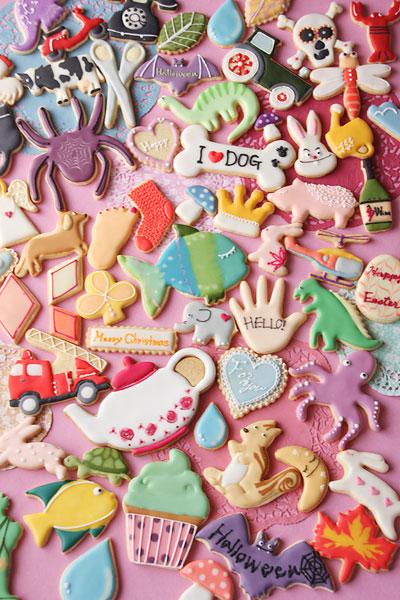 アイシングクッキーいっぱい(ΦωΦ)_f0149855_4523539.jpg