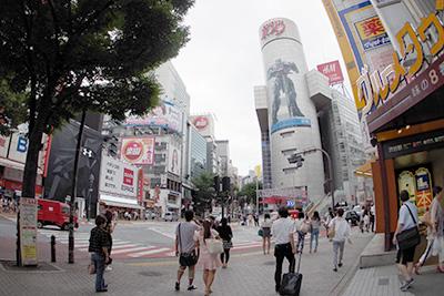 8月8日(金)の渋谷109前交差点_b0056983_11582374.jpg