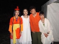 古墳祭初日 石舞台にて_f0015517_22301215.jpg