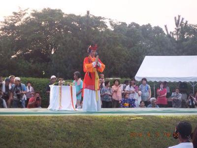 第44回和水町古墳祭「炎の宴」の司会_f0015517_22574573.jpg