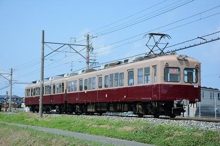 西日本鉄道貝塚線 モ315+ク365 +α_e0030537_1418326.jpg
