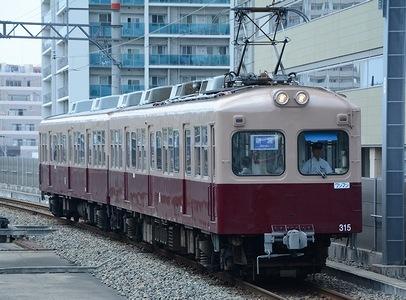 西日本鉄道貝塚線 モ315+ク365 +α_e0030537_14255871.jpg