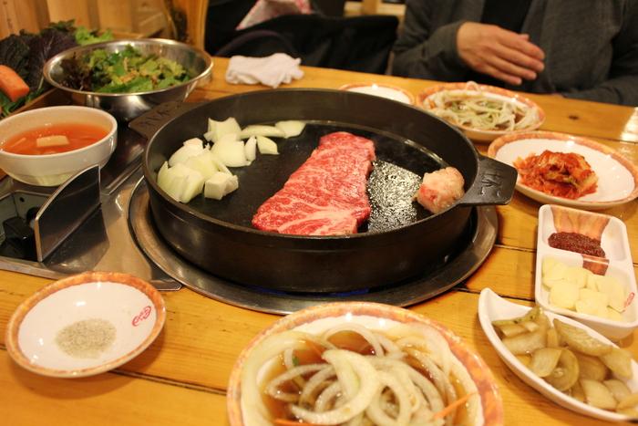 ソウルの江南で韓牛焼肉_a0223786_1227233.jpg