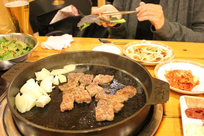 ソウルの江南で韓牛焼肉_a0223786_12273396.jpg