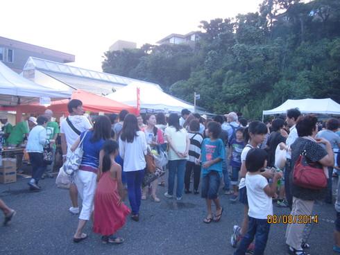 西鎌倉商店会夏祭り_e0190287_1315347.jpg