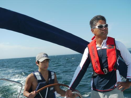 「大島チャレンジ!2014」 ~白石康次郎と高校生による大島往復航海への挑戦~_d0073005_9491821.jpg