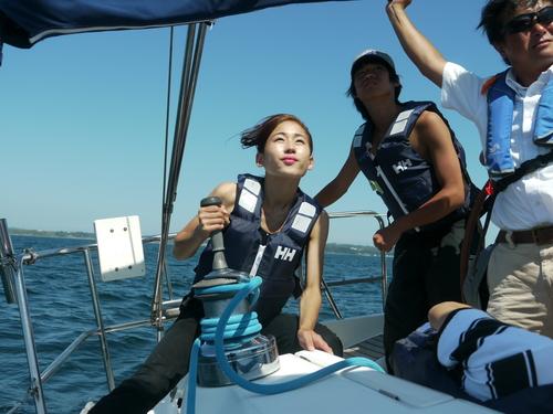 「大島チャレンジ!2014」 ~白石康次郎と高校生による大島往復航海への挑戦~_d0073005_949312.jpg