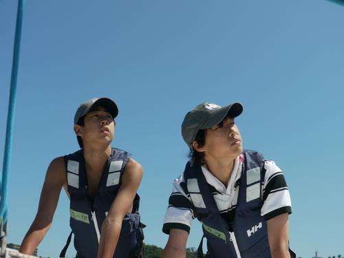 「大島チャレンジ!2014」 ~白石康次郎と高校生による大島往復航海への挑戦~_d0073005_9493980.jpg