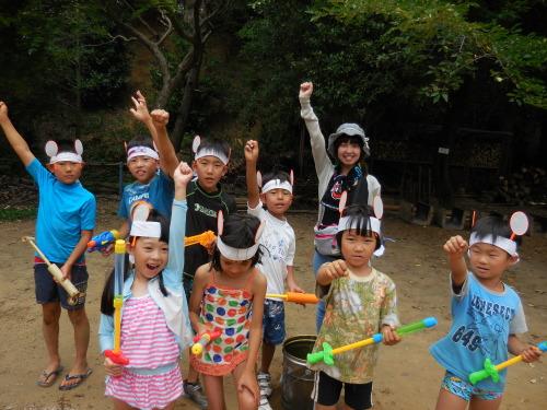 サマーキャンプ2014<水鉄砲編>_e0131910_21353440.jpg