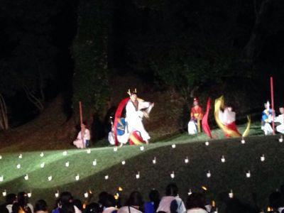 第44回和水町古墳祭「炎の宴」の司会_f0015517_15179.jpg