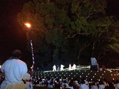 第44回和水町古墳祭「炎の宴」の司会_f0015517_15933.jpg