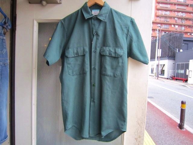 ビンテージの半袖ワークシャツ_a0182112_1520517.jpg