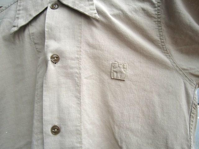 ビンテージの半袖ワークシャツ_a0182112_165369.jpg