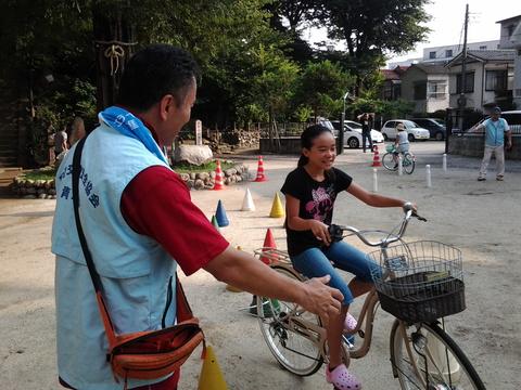 7月26日(土) 子ども安全自転車教室他・・・_e0093518_13435456.jpg
