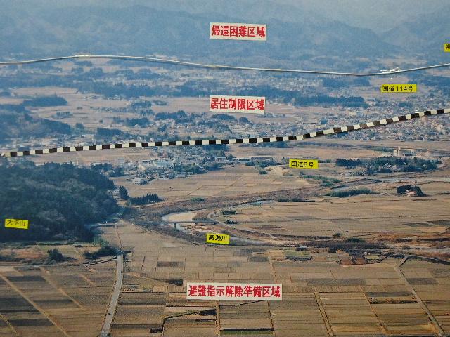 7月27日(日) 福島県浪江町を視察(線量計を持って)_e0093518_14442835.jpg