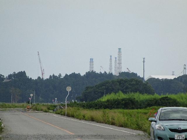 7月27日(日) 福島県浪江町を視察(線量計を持って)_e0093518_1445118.jpg