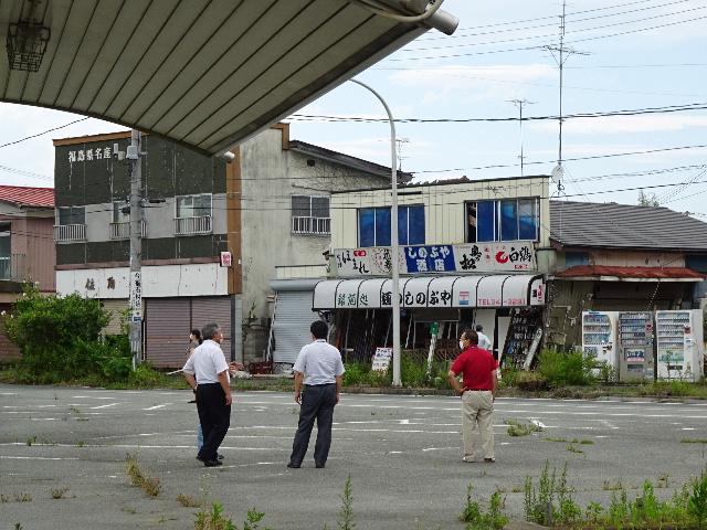 7月27日(日) 福島県浪江町を視察(線量計を持って)_e0093518_14452647.jpg