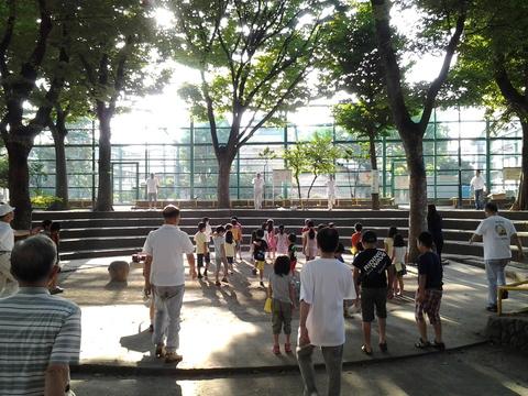 7月30日(水) 続くラジオ体操(神明公園会場にて)_e0093518_15261533.jpg