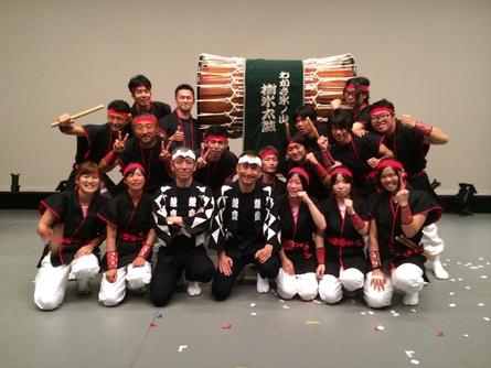 【 因幡和太鼓の祭典 】_f0101226_23435551.jpg