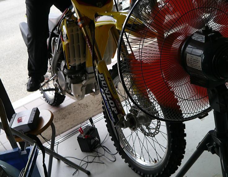 オフロードバイクもTEXA診断_f0178858_19105220.jpg