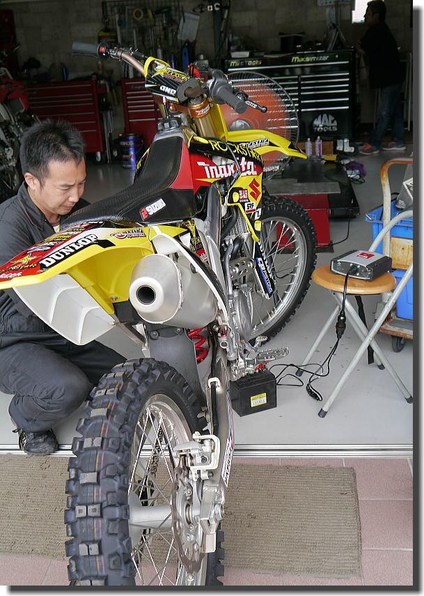 オフロードバイクもTEXA診断_f0178858_1911072.jpg