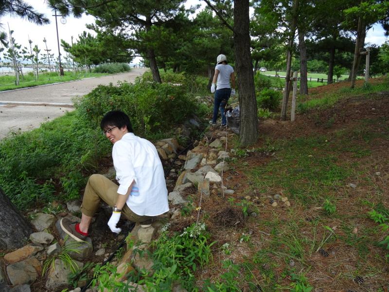 うみべの森一人作業 & カニの道の整備     by     (TATE-misaki)_c0108460_22564402.jpg