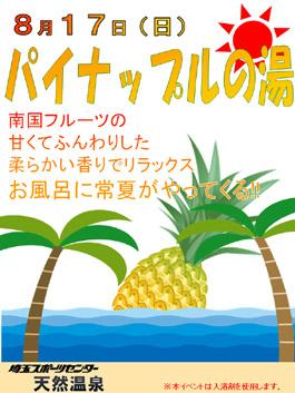 パイナップル風呂_e0187507_17425297.jpg