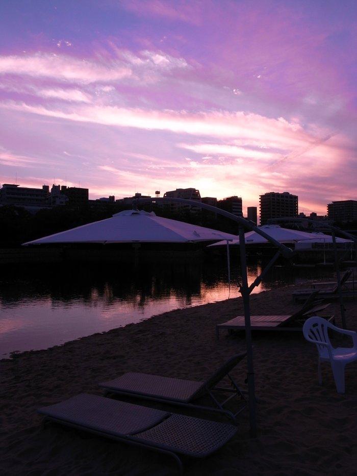 桜ノ宮ビーチで夕涼み AVALON Beach OSAKA  _f0209122_16222046.jpg
