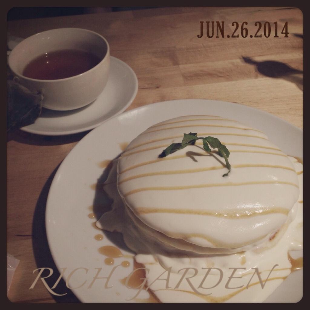 pancake @RICH GARDEN_d0209386_133739100.jpg