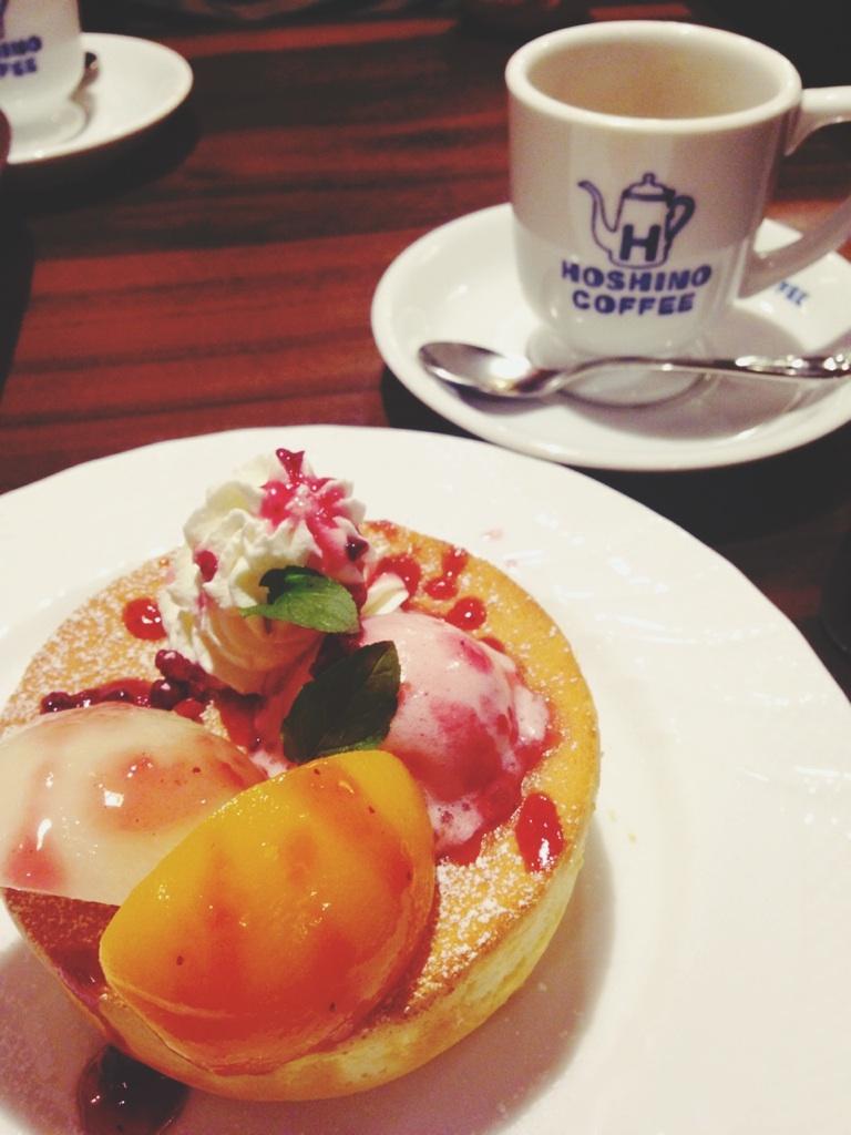 pancake @HOSHINO COFFEE_d0209386_14172538.jpg