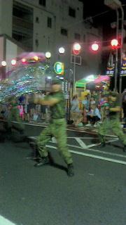 第52回山形花笠祭りへ行ってきました(4)~自衛隊の花笠踊り~_f0168392_00383324.jpg