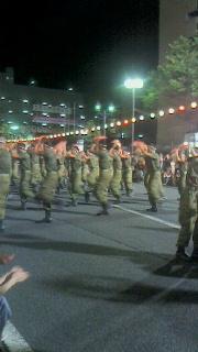 第52回山形花笠祭りへ行ってきました(4)~自衛隊の花笠踊り~_f0168392_00414731.jpg
