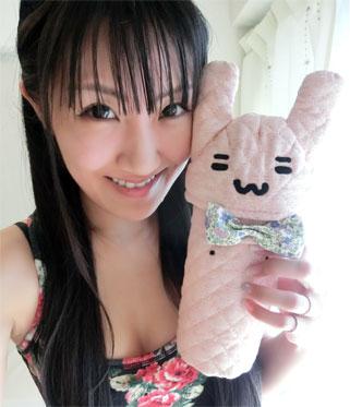 新作♡ちくびウサギペットボトルホルダー!_d0224894_0295597.jpg