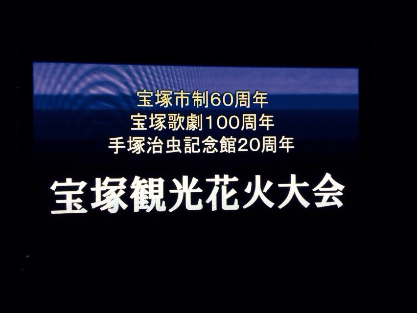 宝塚観光花火大会_a0218340_16055219.jpg
