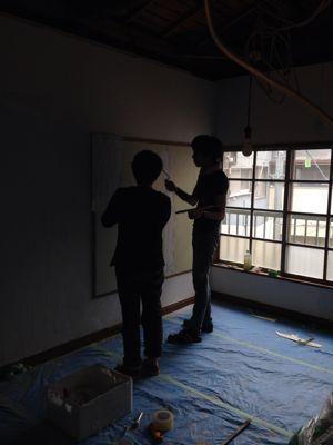 shizenの壁塗り_b0132442_19311016.jpg