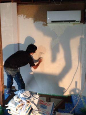 shizenの壁塗り_b0132442_19311157.jpg