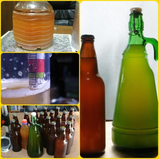 My Beer No.7 ベルギー風Witbier 瓶詰め_c0063348_1954395.jpg