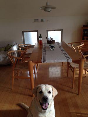 summer interior   リネンのセンターテーブルマット♪_a0165160_7103159.jpg