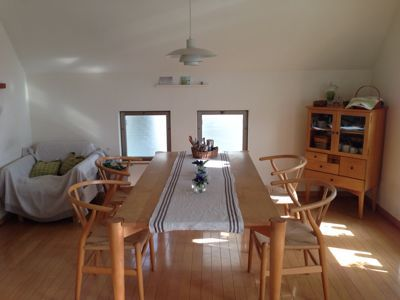 summer interior   リネンのセンターテーブルマット♪_a0165160_736543.jpg