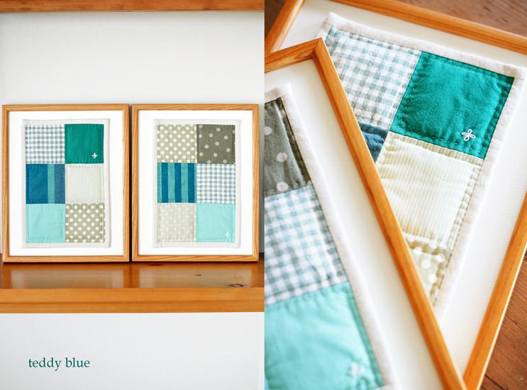 framed patchwork quilt  パッチワークキルトを飾って_e0253364_14241816.jpg
